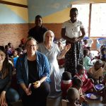 Julie Soh, Donna Power, Sister Josephine and teachers from Project Kindy Kindergartens in Malawi